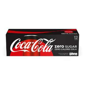Coca-Cola® Zero Sugar  355mL Cans, 12 Pack