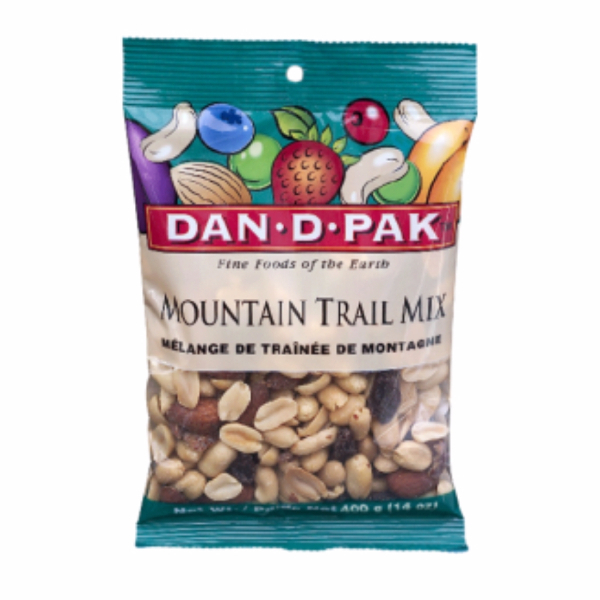 Mountain trail mix dan.d.pak بادام‌زمینی‌