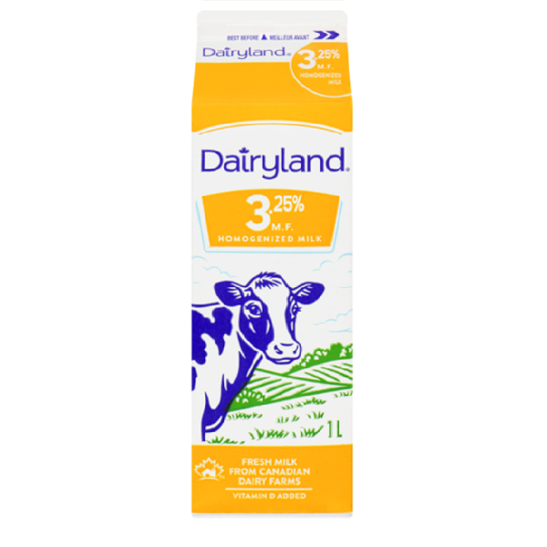Dairyland 3% Milk - 1 L  Vitamin A & D Added