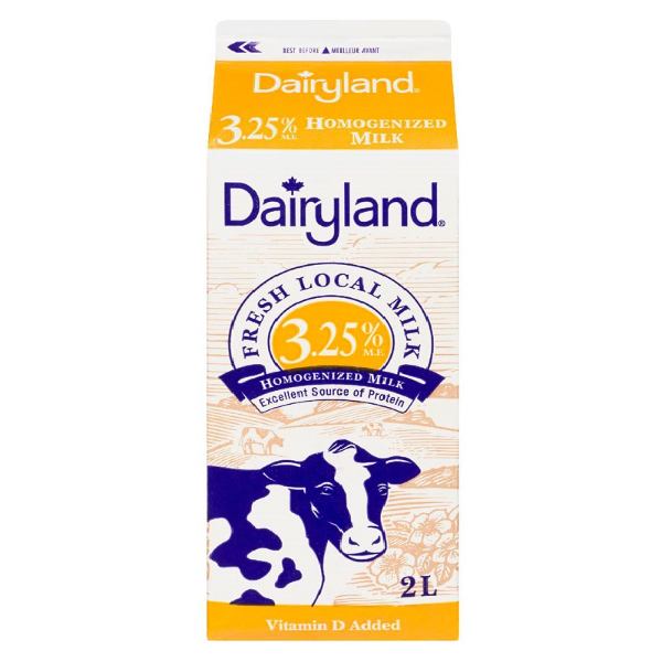 Dairyland 3% Milk - 2 L  Vitamin A & D Added