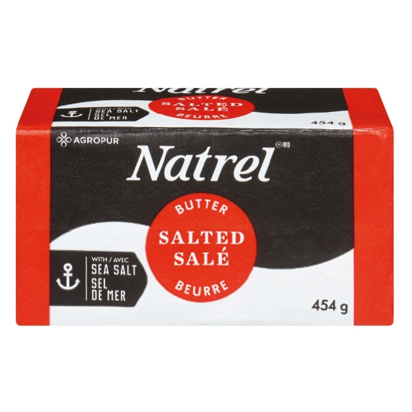 Natrel - SALTED BUTTER 454 g