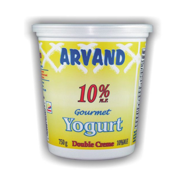 Arvand Double Creme  yogurt  750 g - 10% M.F.