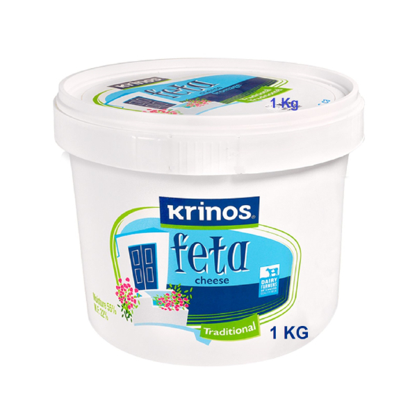 Krinos Traditional Feta Cheese  1 Kg